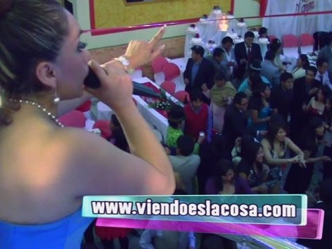 VIDEO: YANET Y LA BANDA KALIENTE - Lágrima Por Lágrima - En Vivo - WWW.VIENDOESLACOSA.COM - Cumbia 2014