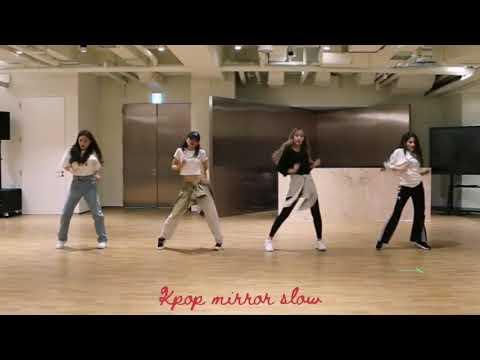 (mirrored & 70% Slowed) 'Wow Thing' Seulgi Chungha SoYeon SinB [Dance Choreography Practice]