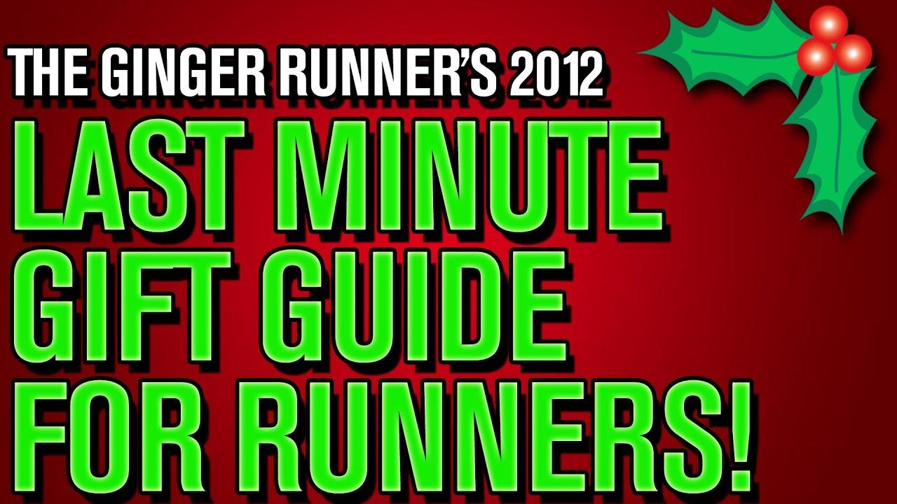 LAST MINUTE CHRISTMAS GIFT GUIDE FOR RUNNERS - GingerRunner.com ...