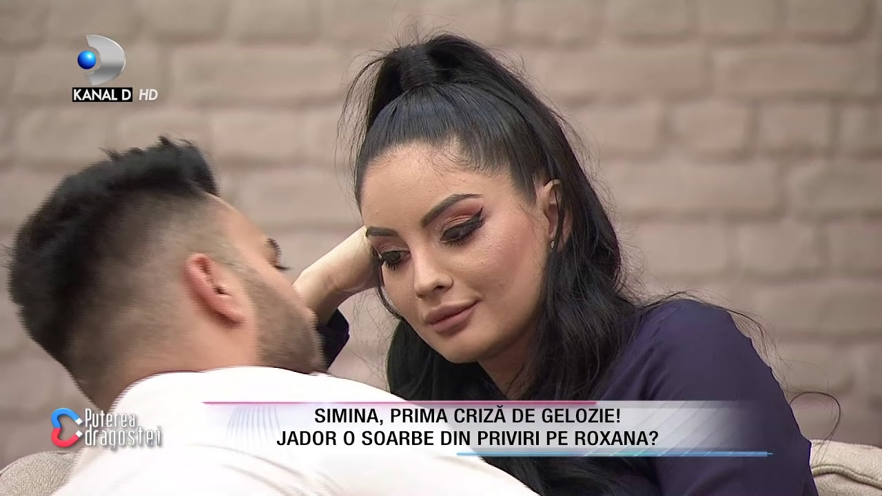 Puterea dragostei (25.01.2019) - Simina, criza de gelozie! Jador o soarbe din priviri pe Roxana?
