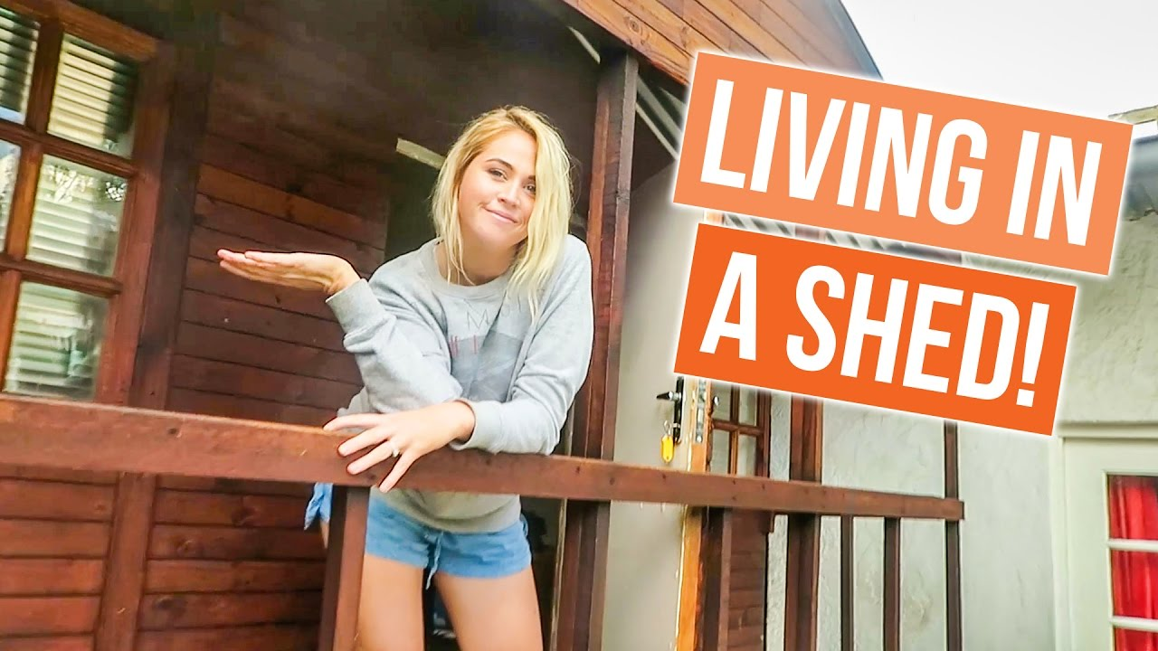 Living in a shed in joburg
