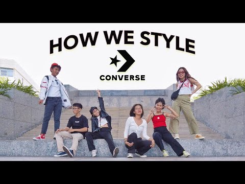 PHỐI ĐỒ VỚI CONVERSE - HOW WE STYLE CONVERSE | WE ARE TEGO