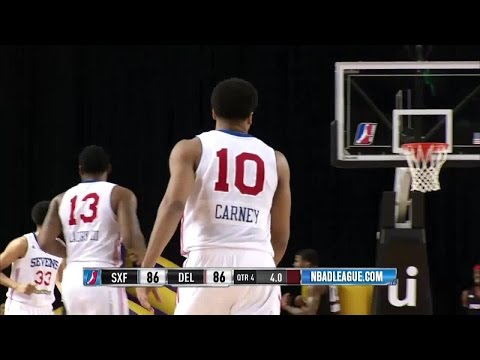 Rodney Carney Hits the Game-Tying Three from Way Downtown!