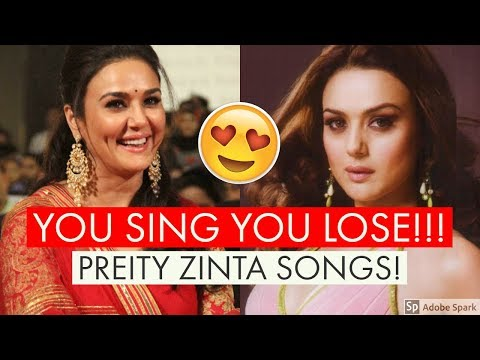 TRY NOT TO SING CHALLENGE - PREITY ZINTA EDITION | BOLLYWOOD SONGS CHALLENGE
