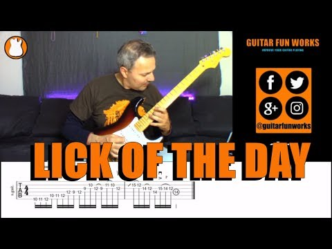 Lick Of The Day #15   Guitar Fun Works