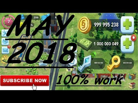 Simcity coins, cash, keys hack/cheat android, ios 2018