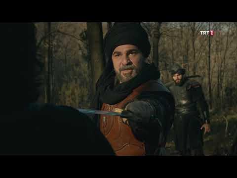 Diriliş Ertuğrul 128. Bölüm - Ertuğrul Bey Ve Alpleri, Lais'e Haddini Bildiriyor.