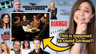 German Reacts to German (?) Scenes in Hollywood Movies! | German Girl in America