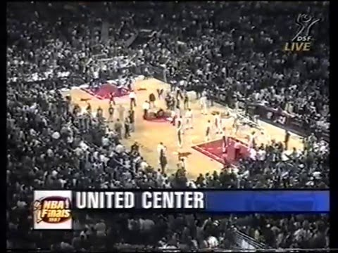 1997 NBA Finals Chicago - Utah Game 2 from DSF