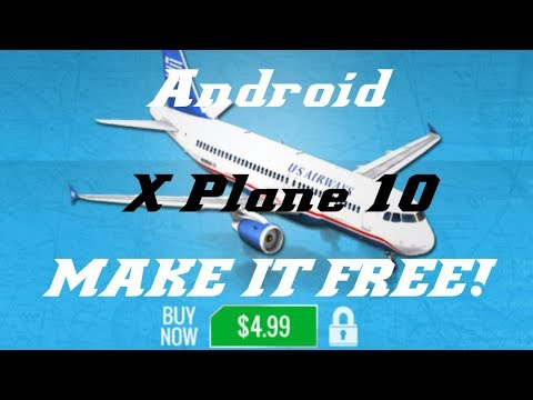 X Plane 10 Hack with Lucky Patcher (Android)