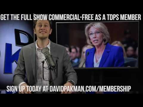 Obama to Free Chelsea Manning, Betsy DeVos's Embarrassing Confirmation Hearing, & Much More...