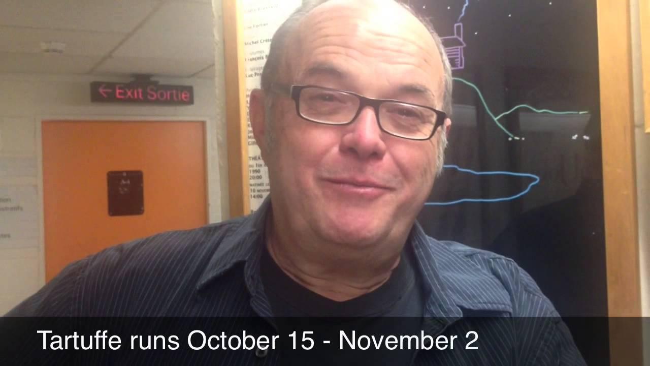 video: Andy Jones' Newfoundland Tartuffe
