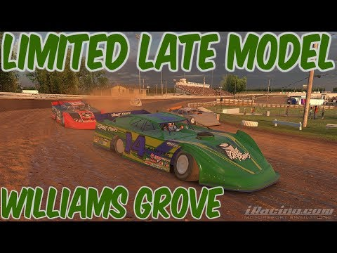 iRacing Limited Late Model at Williams Grove Speedway