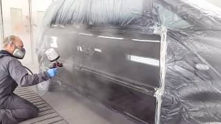 Car Painting: How to paint No dust!!