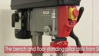 Sip Professional Bench & Floor Standing Pillar Drill Range