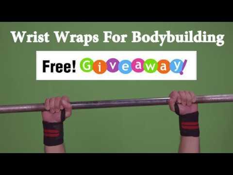 Best wrist wraps bodybuilding Giveaway! WinWristWraps.info