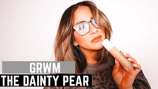 GRWM The Dainty Pear | Fenty Beauty | Tarte | Iconic London | Scott Barnes Beauty | Revlon One-Step