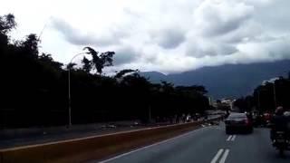 Aut. Prados del Este poco tránsito por falta de transporte que acataron el 2d día de Paro Cívico