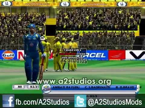 A2 Studios New Camera Replay patch for EA Sports Cricket 2007 free Download
