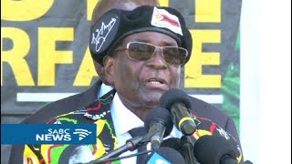 Mugabe intends firing Mnangagwa