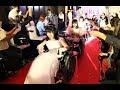 車椅子のウエディングドレスショー