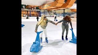 ICE SKATING ATTEMPT