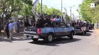 Un saldo de 35 detenidos, entre ellos un periodista, deja protesta en Nicaragua