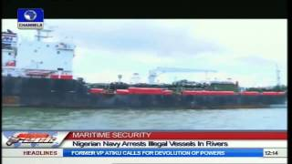 Nigerian Navy Seizes Foreign Ship, Illegal Fishing Trawlers In Bonny