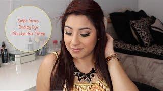 Subtle Brown Smokey Eye Using Chocolate Bar Palette | Beauty With Venissa Thumbnail