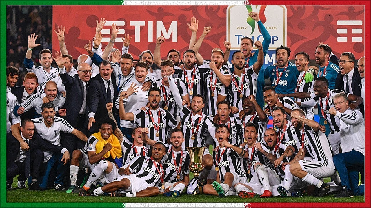 Coppa Italia 2017-18 (Celebration) - YouTube