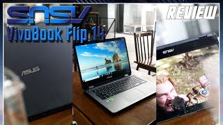 Asus Vivobook Flip 14 TP410UR Short Review Indonesia