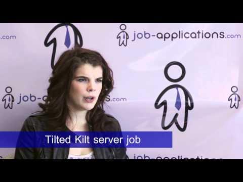 Tilted Kilt Interview - Server