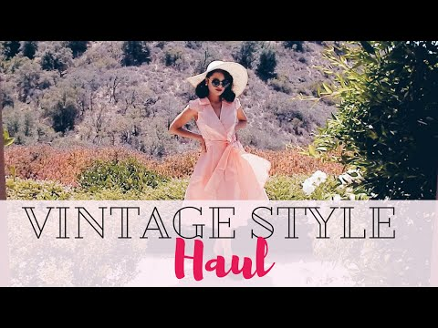 Vintage Fashion Haul & Unboxing | My Petite PenGal