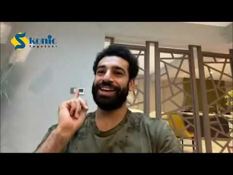 الفرعون المصري محمد صلاح يكشف سر طبق الكشري