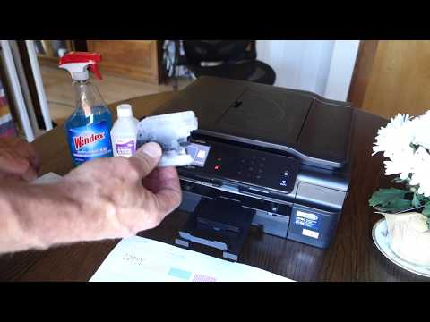 Brother MFC-J870DW A Better Way to Clean the Printhead