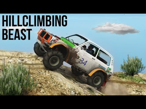 BEST HILL CLIMBER EVER! OFF-ROAD 4X4 DIRT TRACK & MOUNTAIN C