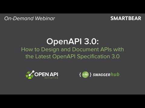OpenAPI 3.0: How To Design And Document APIs With The Latest OpenAPI Specification 3.0