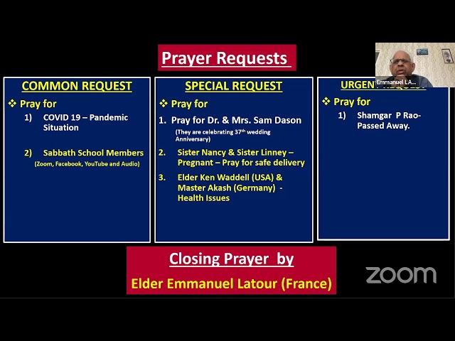 03 Mar21Qtr.1:ISAIAH-LS-10:Tamil Sabbath School–அணுகமுடியாதவர்கள் நாம்தாம்–by Pr. Soundararajan M