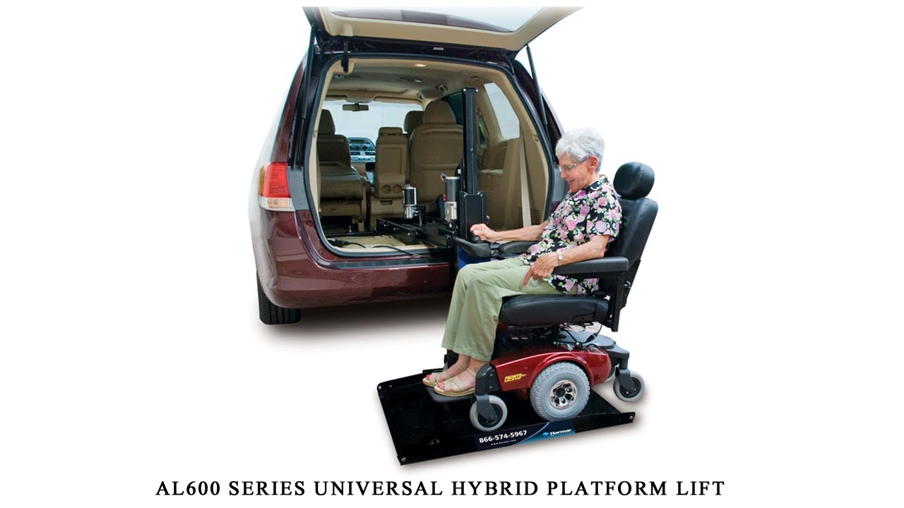 harmar al600 universal hybrid platform lift installation guide rh youtube com Harmar Scooter Lift Wiring Harness Power Wheelchairs