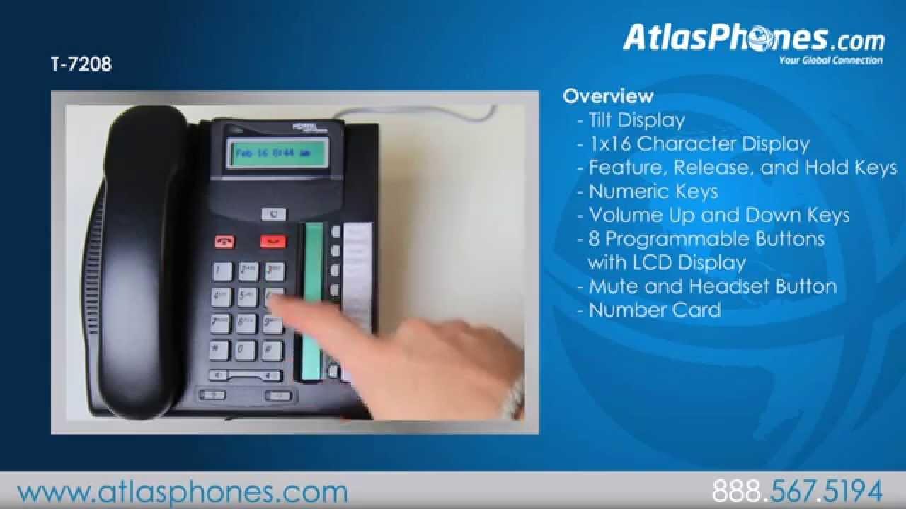 Nortel t7208 phone nortel networks t7208 phones business.