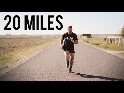 20 Mile Run - Am I Losing Muscle? | Marathon Prep