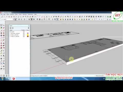 Hướng dẫn tự học SketchUp từ cơ bản đến nâng cao phần 3