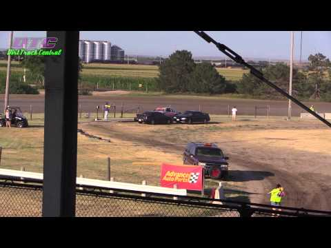 IMCA Stock Car Heats Dawson County Speedway 8 3 14