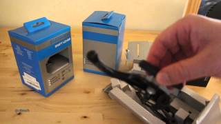 shimano shifters and brakes sl m310 br m422 unboxing