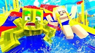 Die EXTREME BABY WASSERRUTSCHE?! - Minecraft URLAUB