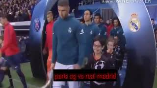 Résumé Paris sg vs real Madrid (match 2)