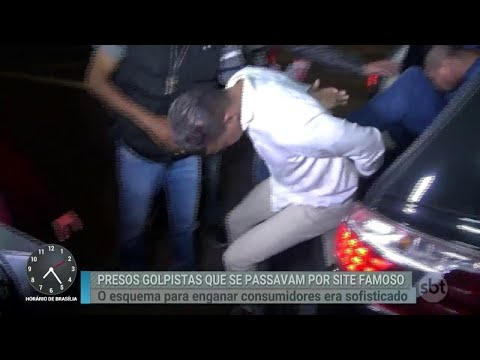 Polícia prende criminosos que aplicavam golpes pela internet | Primeiro Impacto (15/08/18)