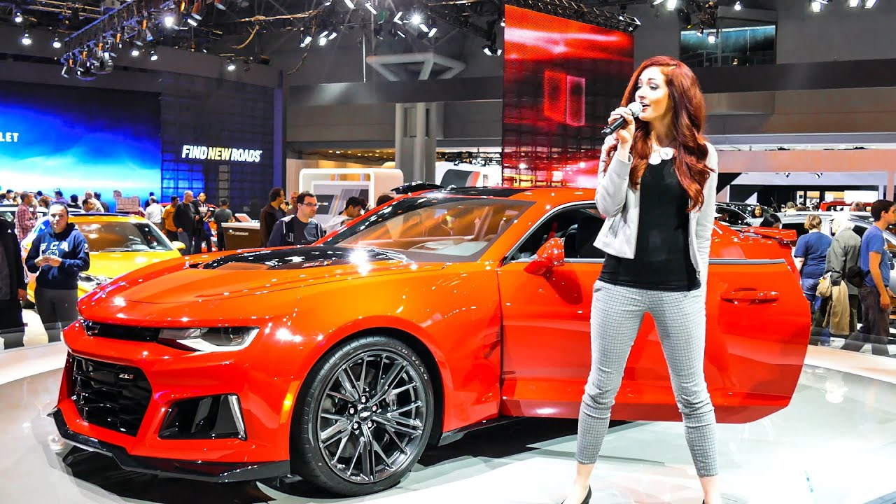 Chevrolet Camaro Zl1 At New York International Auto Show