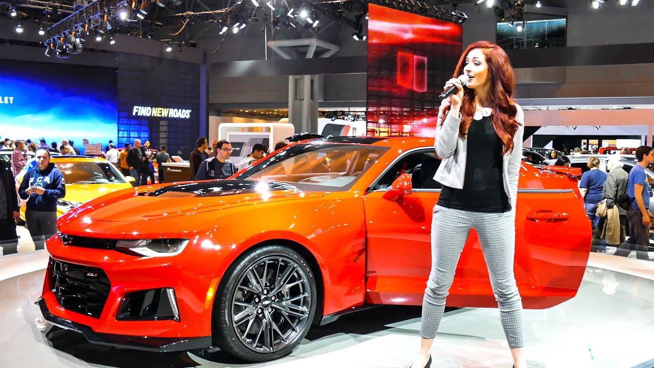 Chevrolet Camaro ZL1 At New York International Auto Show