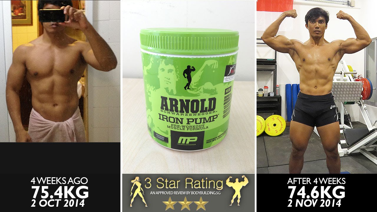Musclepharm arnold schwarzenegger series iron pump youtube musclepharm arnold schwarzenegger series iron pump bodybuilding singapore malvernweather Gallery